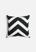 Sixth Floor - Chevron Printed Cushion