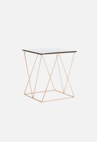 Sixth Floor - Copper & Black Table