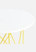Sixth Floor - Yellow Table