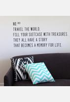 Sixth Floor - Travel the World Wall Decal