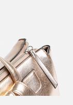 New Look - Metallic Xhatch Backpack