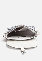 New Look - Camo Floral Saddle Bag