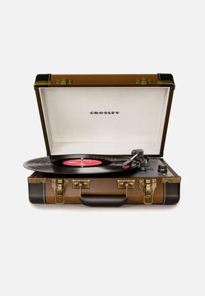 Crosley Executive Audio Brown