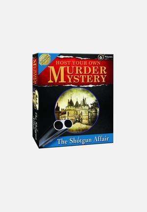 Cheatwell Murder Mystery: The Shotgun Affair Games & Puzzles