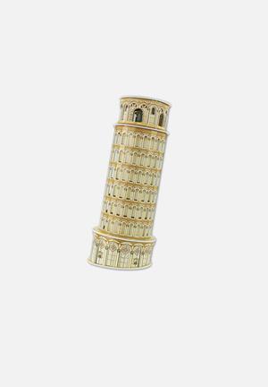 CubicFun Leaning Tower Of Pisa 3D Puzzle EPS Foam Board