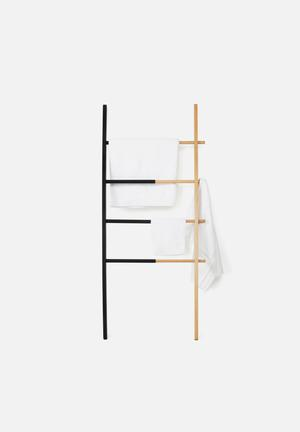 Umbra Hub Ladder Shelves & Racks Black & Natural