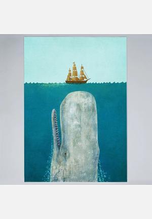Terry Fan The Whale Art