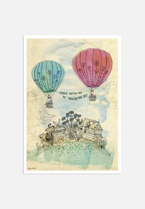 Sweet William Touch The Sky Art