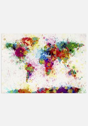 ArtPause World Map - Colour Art