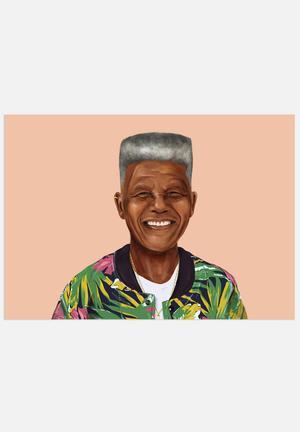 HIPSTORY Nelson Mandela Art