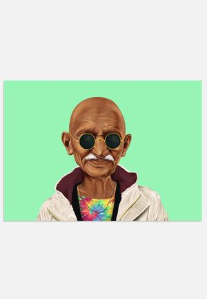 HIPSTORY Mahatma Gandhi Art