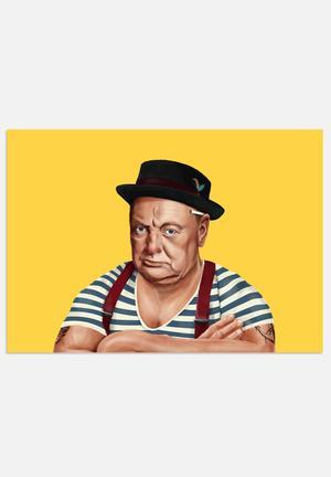 HIPSTORY Winston Churchill Art