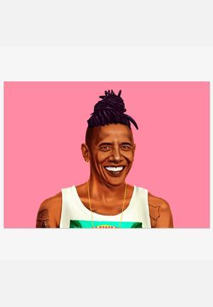 HIPSTORY Barack Obama Art