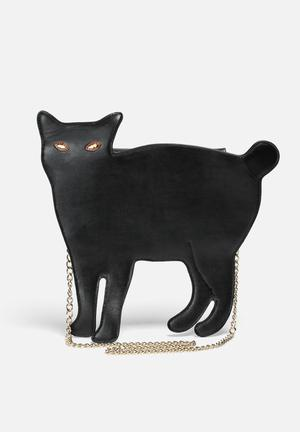 Feline Bag w Chain Strap