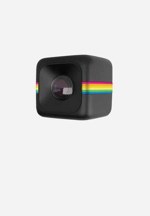 polaroid cube hd action camera black polaroid camera superbalist com