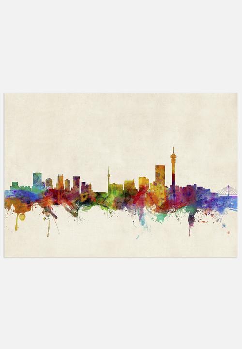 Johannesburg skyline artpause art superbalist altavistaventures Images