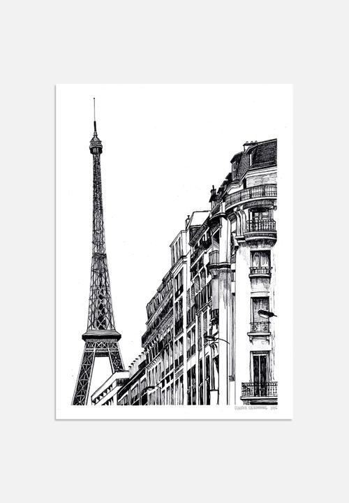 Claudia Liebenberg Paris - Illustration Art