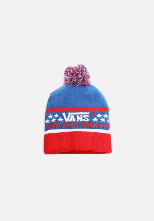 b67b023f87b5d0 Elite Beanie- Red White Blue Vans Headwear