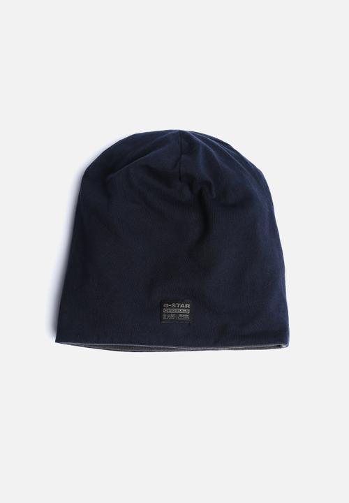 f8fd4403260 Coban ReversIble Beanie-Mazarine Blue G-Star RAW Headwear ...