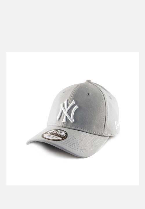 e74c547ac7cc92 3930 NY Yankees Jersey Cap – White & Grey New Era Headwear ...