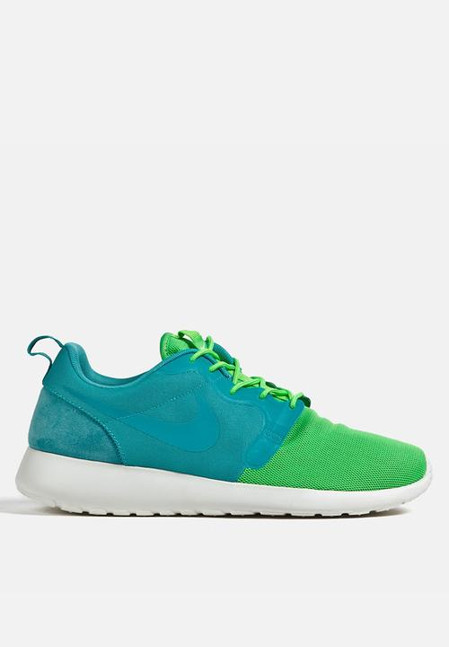 013ddb4e44d5 Nike Roshe Run Hyperfuse QS – Blue   Green Nike Sneakers ...