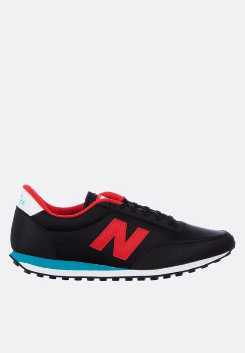 new balance u410 black red