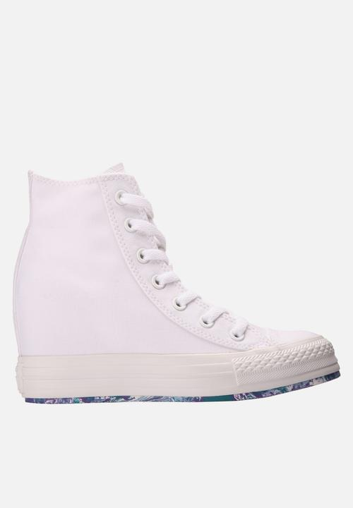 5e0b3cfa42e5 Chuck Taylor Tie-Dye Hi – White Converse Sneakers