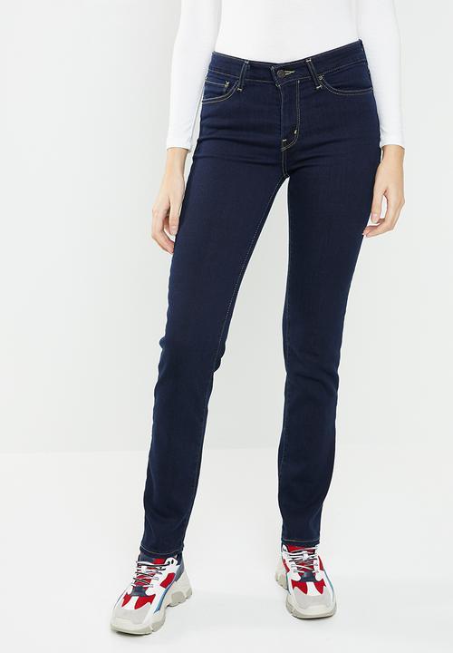 712 slim jeans - dark blue