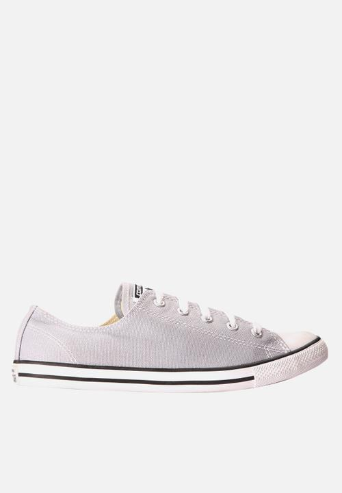 d7255b84e26 Chuck Taylor All Star Dainty OX- Grey Converse Sneakers ...