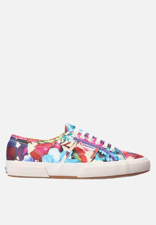 2750 Floral- White SUPERGA Sneakers
