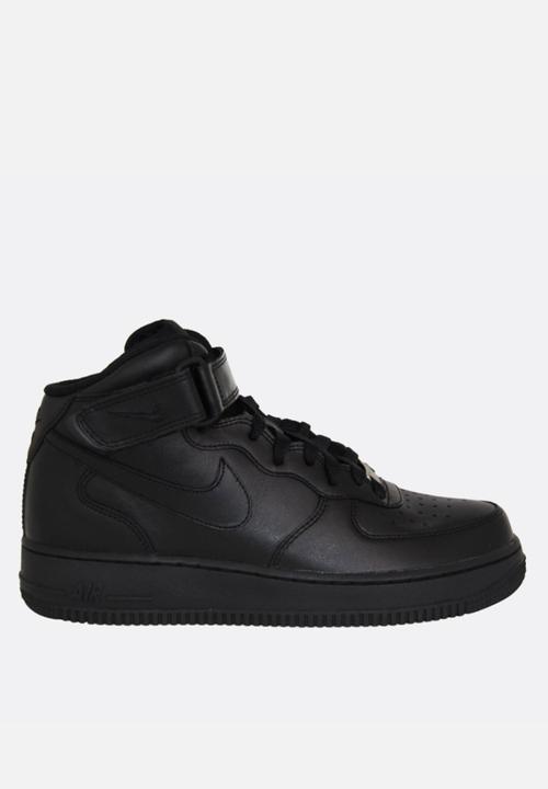 new product 6c6f3 7ef57 Nike - Air Force 1 Mid  07- Black   Black