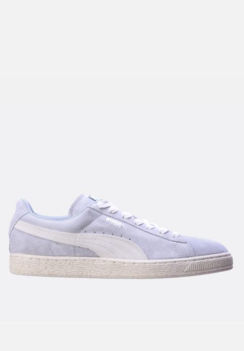 879a1e84204 Suede Classic Natural Calm - Quarry PUMA Sneakers