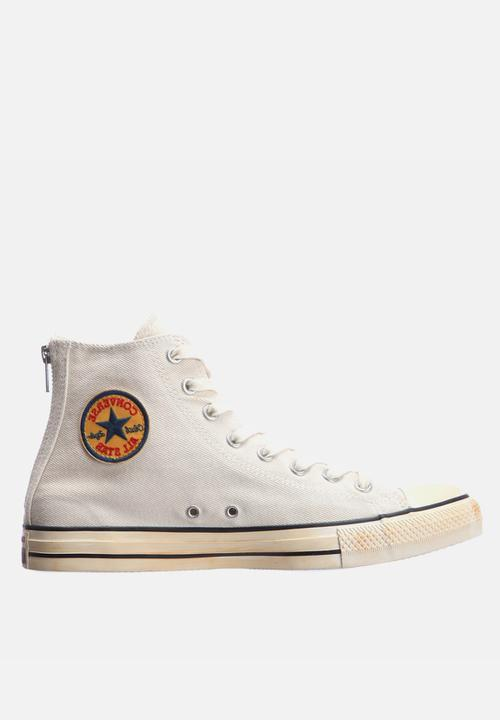 547956844bc010 Chuck Taylor All Star Back Zip – White Converse Sneakers ...