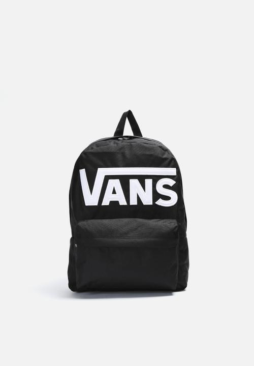 81da2cc8004 Old Skool II Backpack- Black and White Vans Bags & Wallets ...