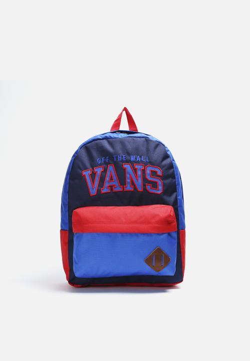 e31381caeb Old Skool II Backpack- BLUE Peacoat Invert Red Vans Bags & Wallets ...