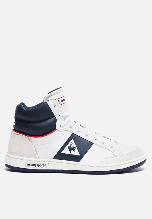 c0b9adb7481d Prestige Court Mid Sport - White Le Coq Sportif Sneakers ...