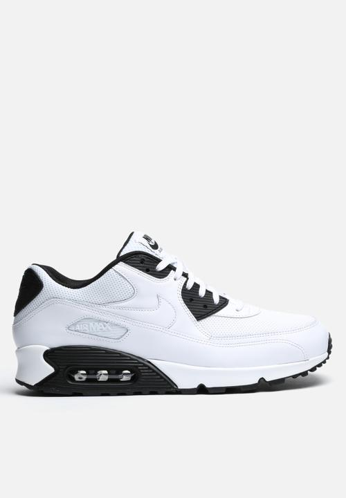 76499f93f05fd Air Max 90 Essential - WHITE BLACK Nike Sneakers | Superbalist.com