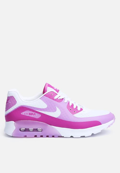 8dfa2b50f4 AIR MAX 90 ULTRA BR - WHITE/FUCHSIA GLOW-FCHS FLASH Nike Sneakers ...
