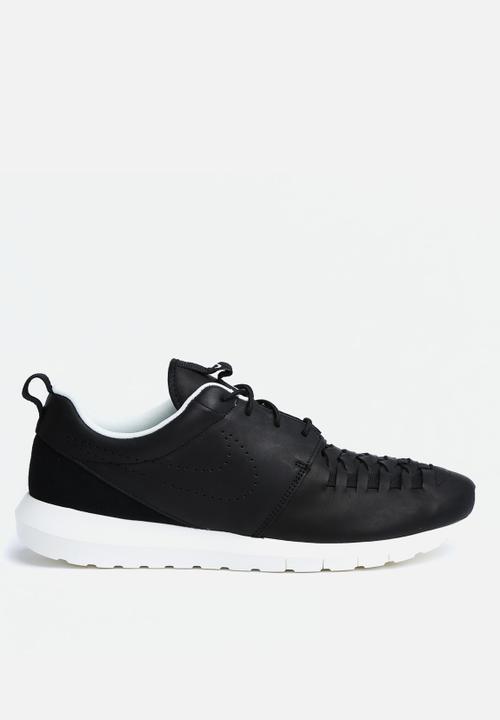 2537ffd55e8b Roshe Run NM Woven - 725168-001 - Black   Sail Nike Sneakers ...