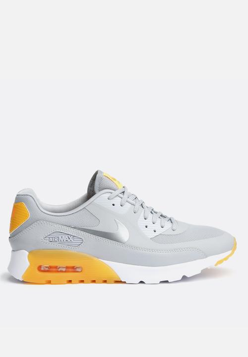 9deaaa445f38 AIR MAX 90 ULTRA ESSENTIAL - GREY ORANGE Nike Sneakers