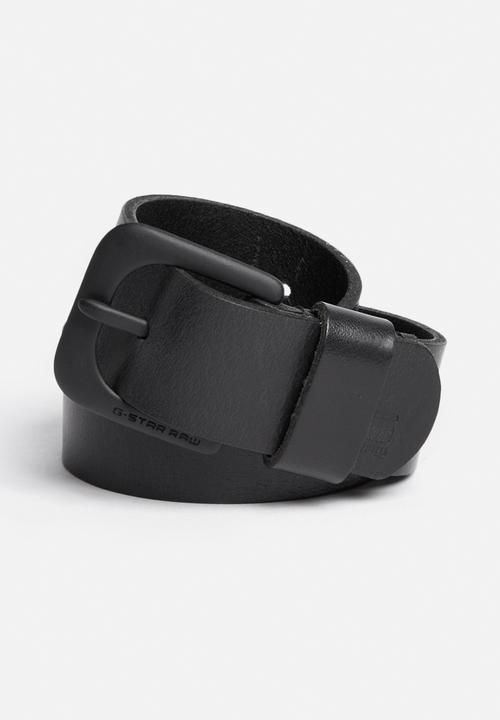 Zed leather belt