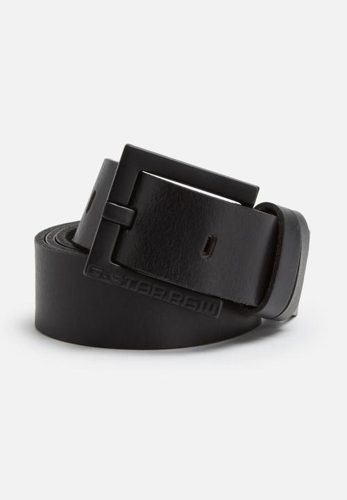 Duko leather belt