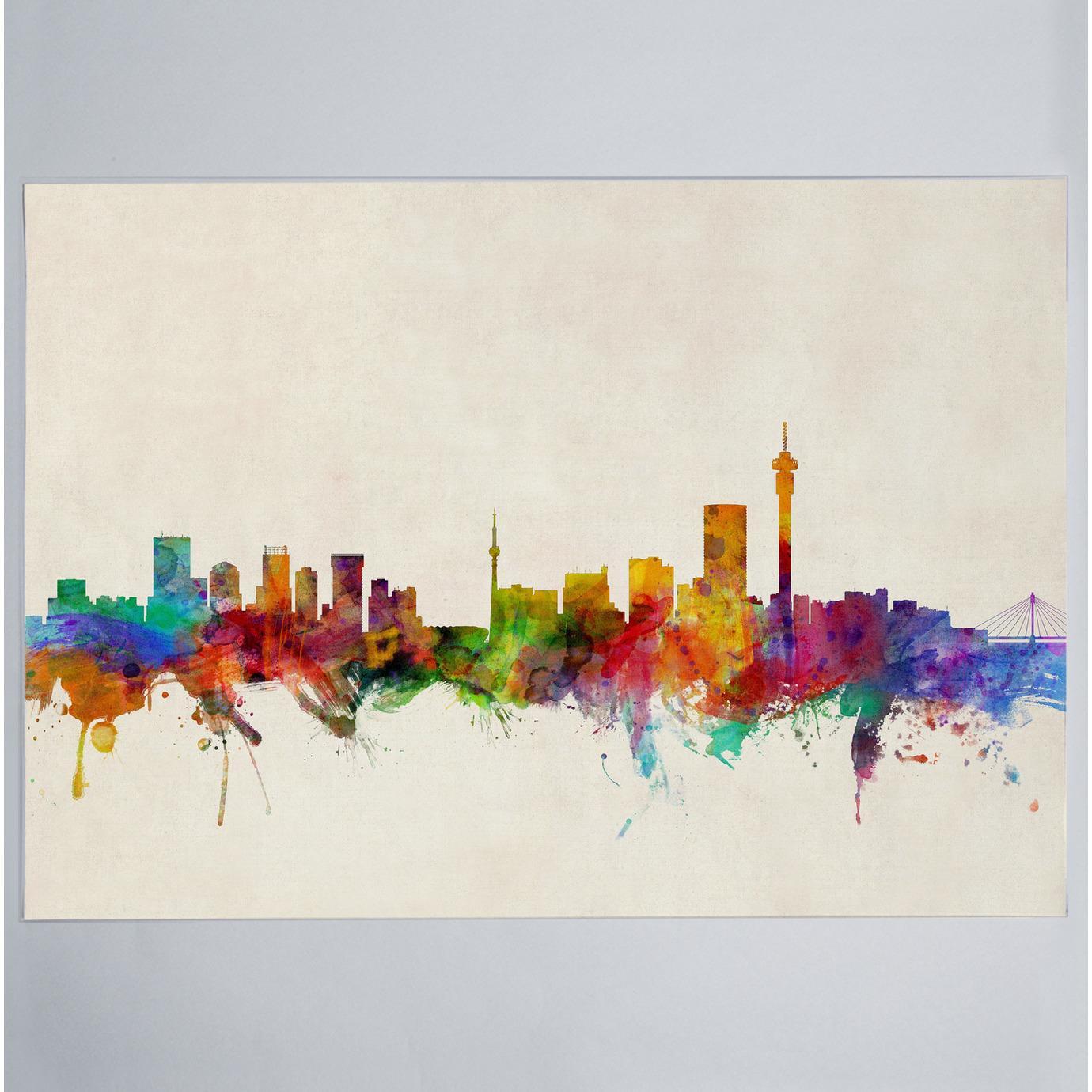 Johannesburg skyline print artpause art superbalist thecheapjerseys Image collections