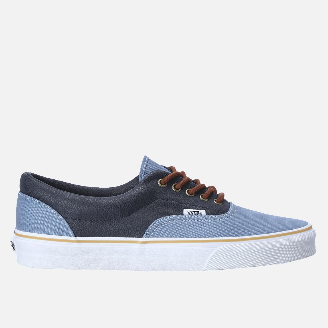 a61c78ec0f Leather Quarter Era – Coronet Blue   Navy Vans Sneakers ...