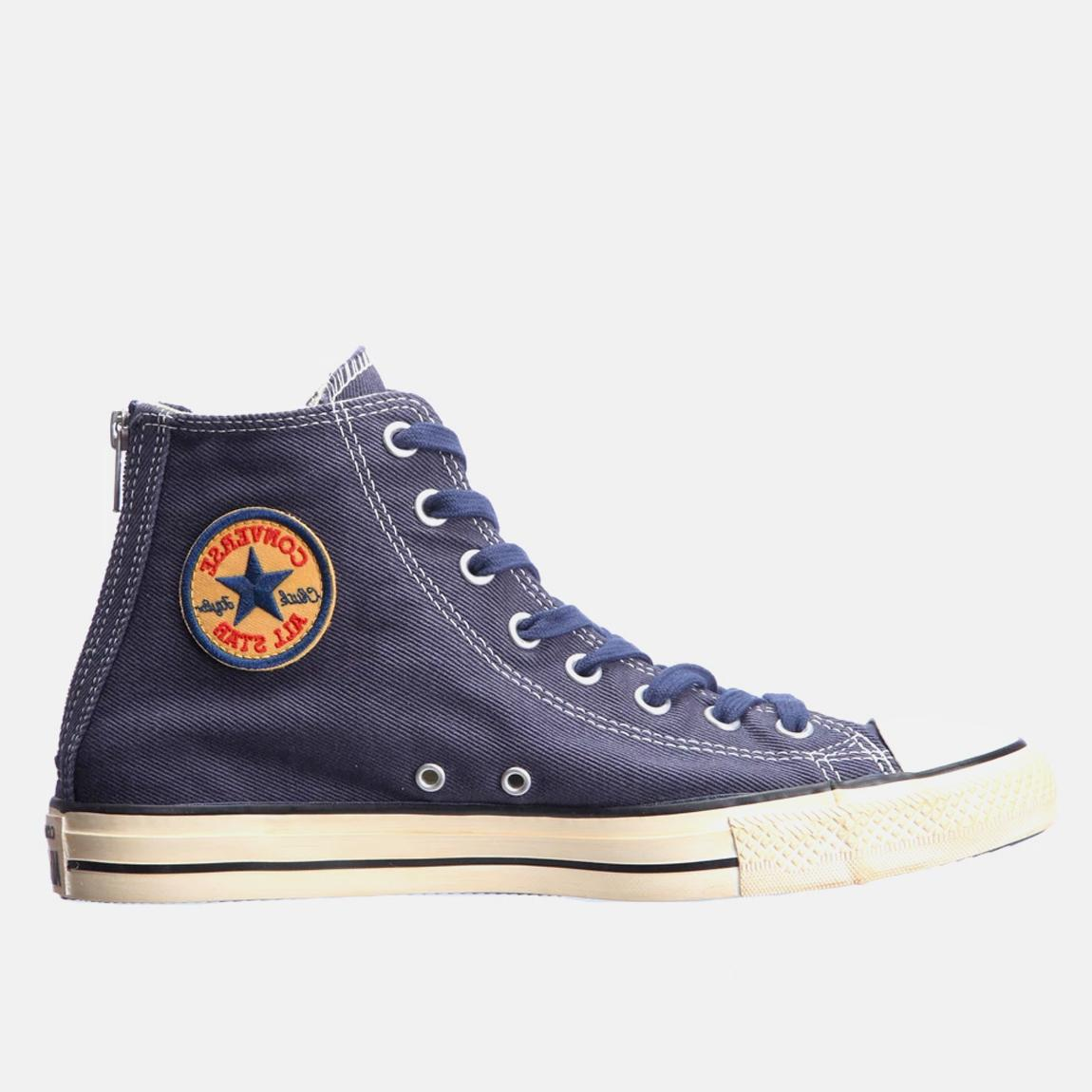 Chuck Taylor All Star Back Zip – Blue Converse Sneakers ...