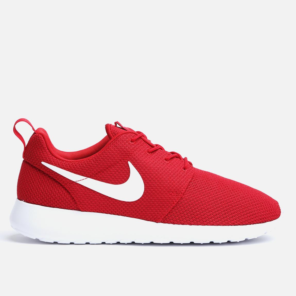 62855029b2fb Roshe Run - 511881-612 - Gym Red   White Nike Sneakers